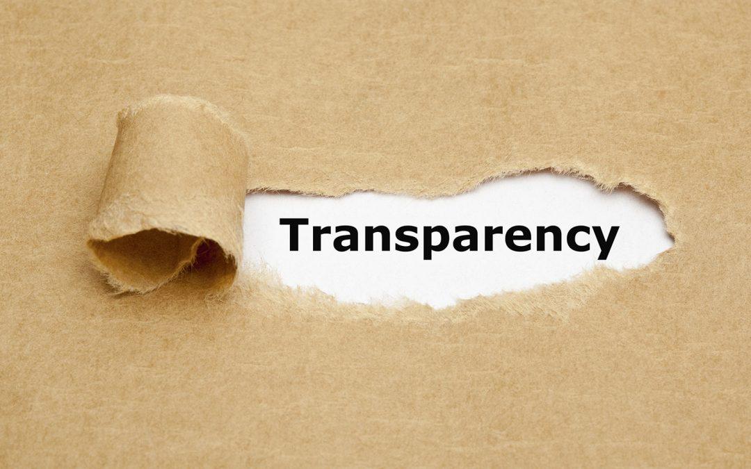 Trasparenza verso i soci